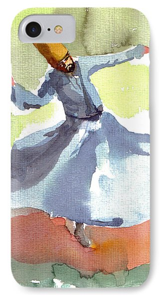 Whirling Dervish IPhone Case by Faruk Koksal