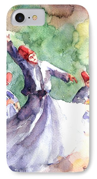 Whirling Dervishes IPhone Case by Faruk Koksal