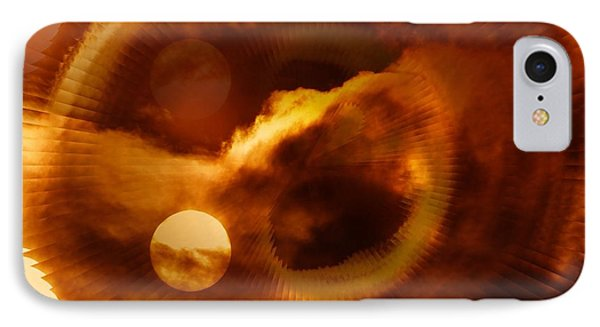 Whirling In The Clouds Phone Case by Jeff Swan