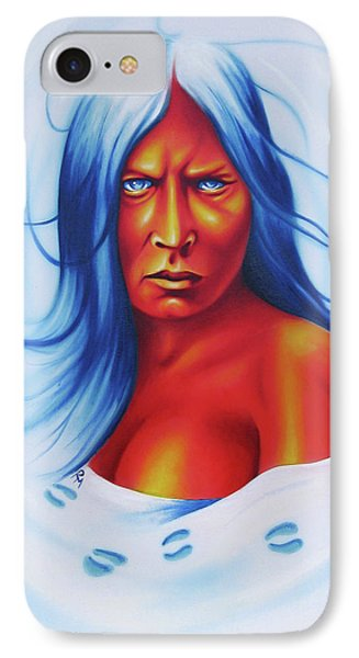 Whirlwind Woman IPhone Case by Robert Martinez