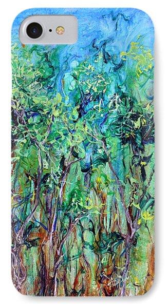 Whirlwoods Phone Case by Regina Valluzzi