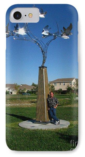 Whirlybird Phone Case by Peter Piatt