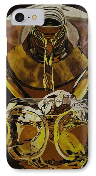 Whiskey Pour IPhone Case by Herb Van de Eau