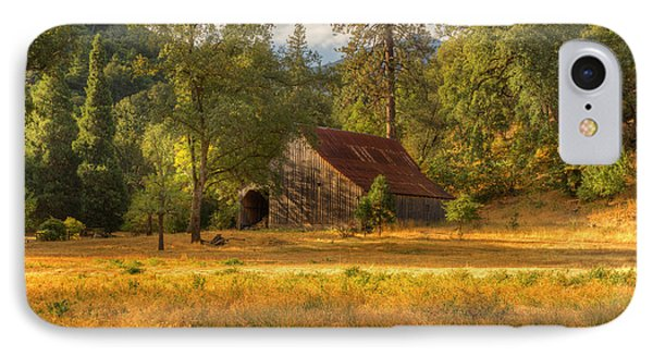 Whiskeytown Barn IPhone Case