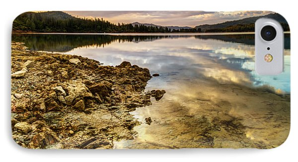 Whiskeytown Lake Reflections IPhone Case by Randy Wood
