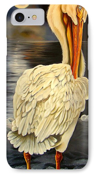 IPhone Case featuring the painting Whisper And Shout by Phyllis Beiser