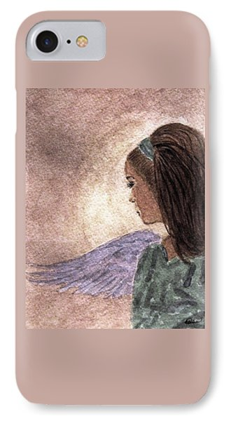 Whisper Of Wings Phone Case by Angela Davies