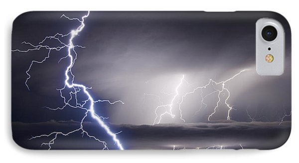 Whisper To The Thunder IPhone Case