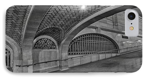 Whispering Gallery Bw Phone Case by Susan Candelario