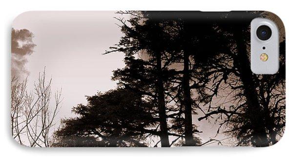 Whispering Trees Phone Case by Salman Ravish