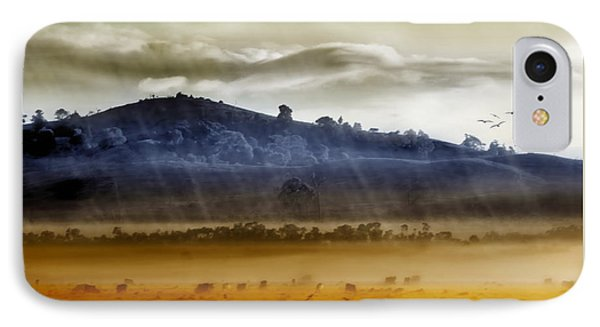 iPhone 7 Case - Whisps Of Velvet Rains... by Holly Kempe