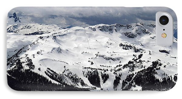 Whistler Mountain View From Blackcomb Phone Case by Pierre Leclerc Photography