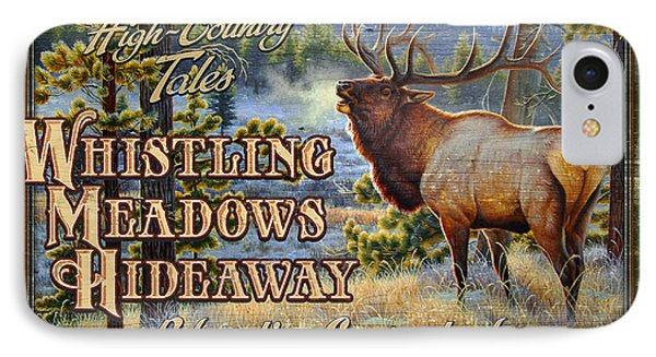 Whistling Meadows Elk IPhone Case