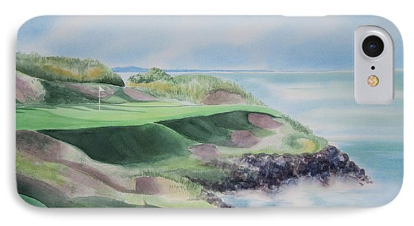 Whistling Straits 7th Hole Phone Case by Deborah Ronglien