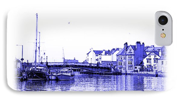 IPhone Case featuring the photograph Whitby Harbor by Jane McIlroy