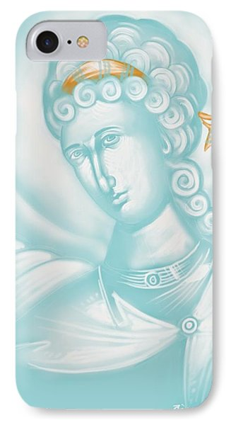White Angel IPhone Case by Julia Bridget Hayes