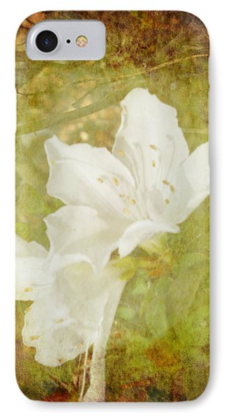White Azalea IPhone Case