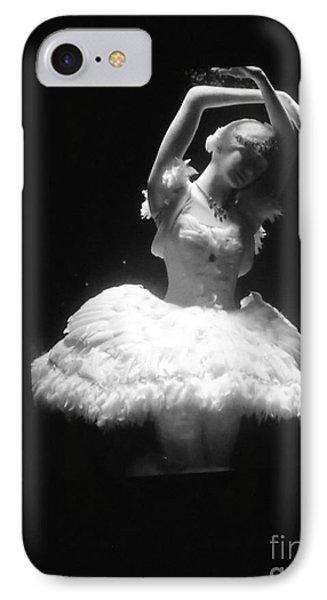 White Ballerina Phone Case by Lyric Lucas