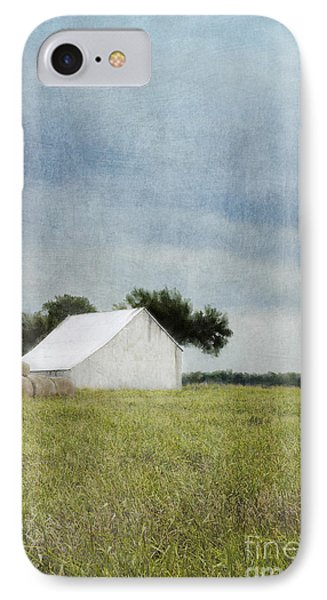 White Barn IPhone Case