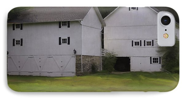 White Barns IPhone Case