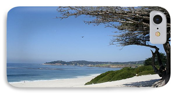 White Beach At Carmel IPhone Case by Christiane Schulze Art And Photography