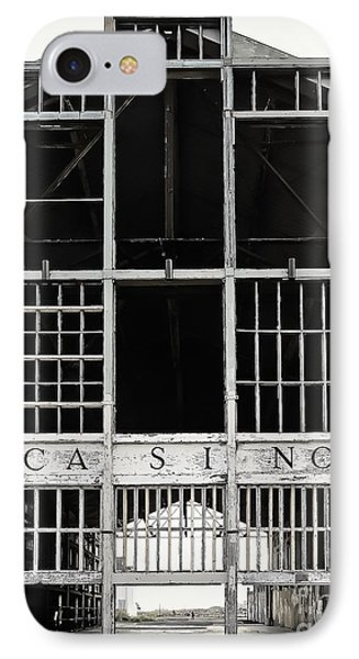 White Casino IPhone Case by Colleen Kammerer