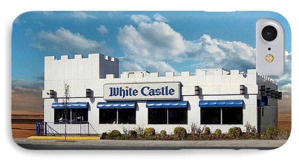 White Castle Phone Case by Bruce Lennon