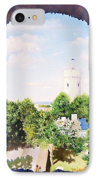 White Castle In Tallinn Estonia IPhone Case
