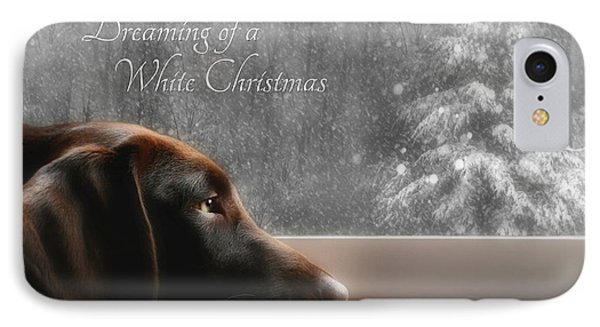 White Christmas IPhone Case