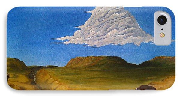 White Cloud Phone Case by John Lyes