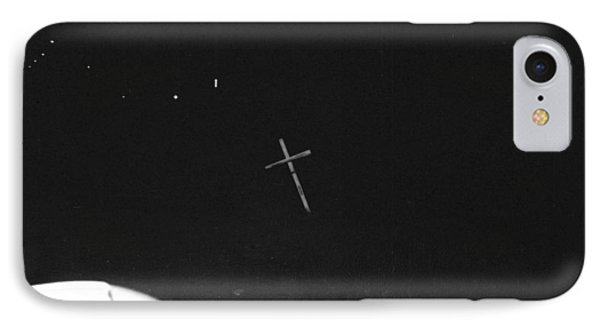 IPhone Case featuring the photograph White Cross by Steven Macanka