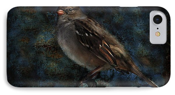 White-crowned Sparrow IPhone Case by Barbara Manis