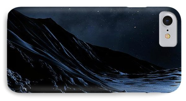 White Dwarf Seen From A Dead Planet IPhone Case