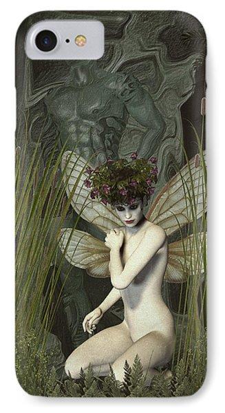 White Fairy IPhone Case by Quim Abella