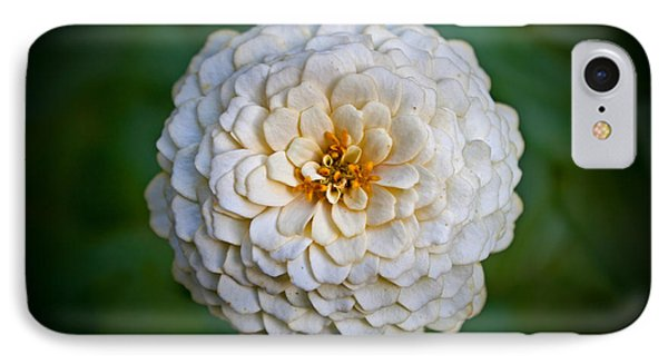 IPhone Case featuring the photograph White Flower by Jean Haynes