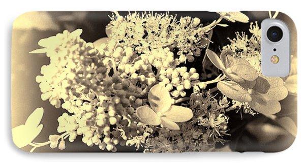 white flower SV Phone Case by Leif Sohlman