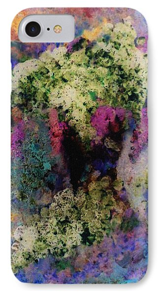 White Flowers In A Vase Phone Case by Lee Green