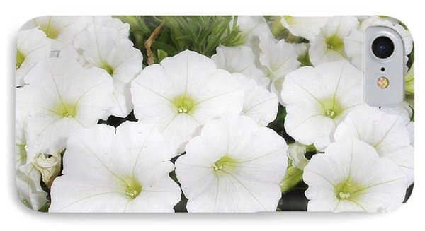 IPhone Case featuring the photograph White Flowers by Michael Dohnalek
