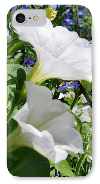 IPhone Case featuring the photograph White Flowers by Rose Wang