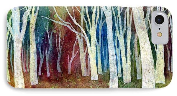 White Forest I Phone Case by Hailey E Herrera