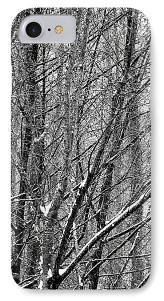 IPhone 7 Case featuring the photograph White Forest by Marc Philippe Joly