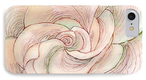 White Gardenia 1 IPhone Case by Anna Skaradzinska