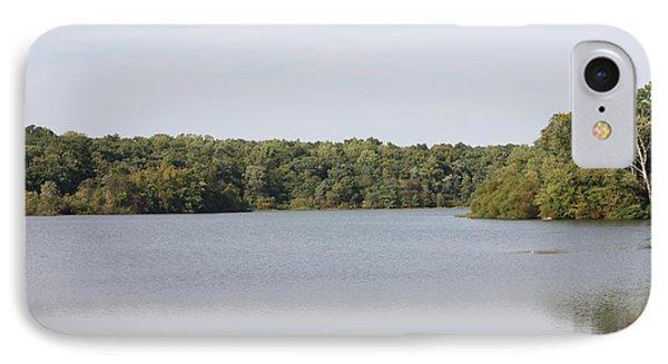 White Heron Lake Poconos Pa IIi Phone Case by John Telfer