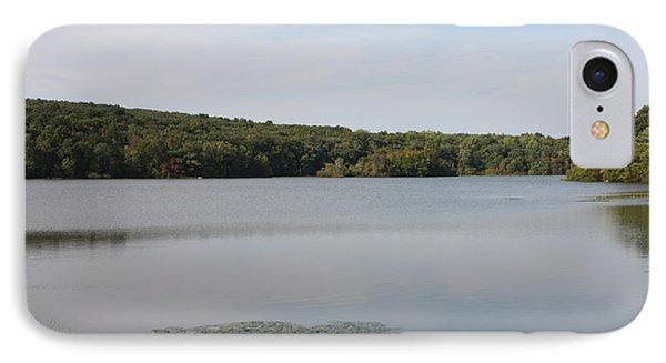 White Heron Lake Poconos Pa Phone Case by John Telfer