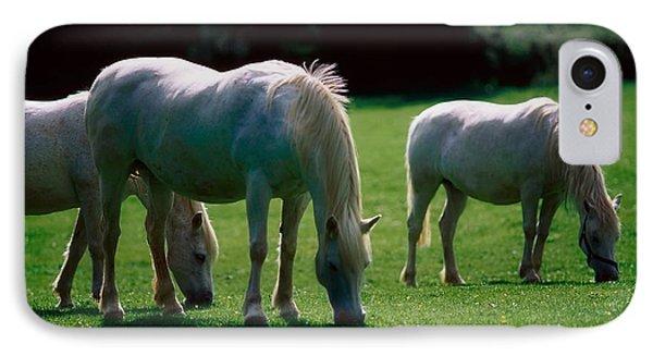 White Horses, Ireland Phone Case by The Irish Image Collection