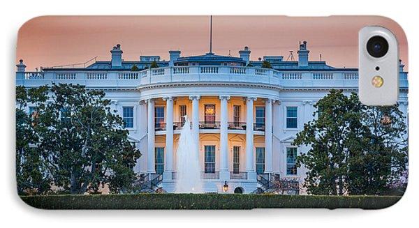 White House Phone Case by Inge Johnsson