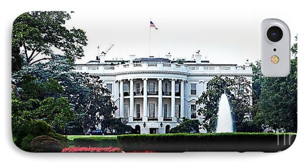 White House IPhone Case by Mike Baltzgar