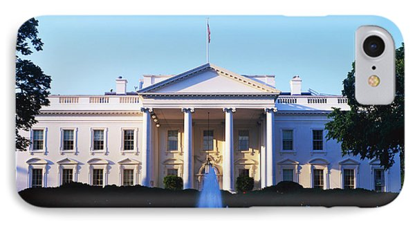 White House Washington Dc IPhone Case by Panoramic Images