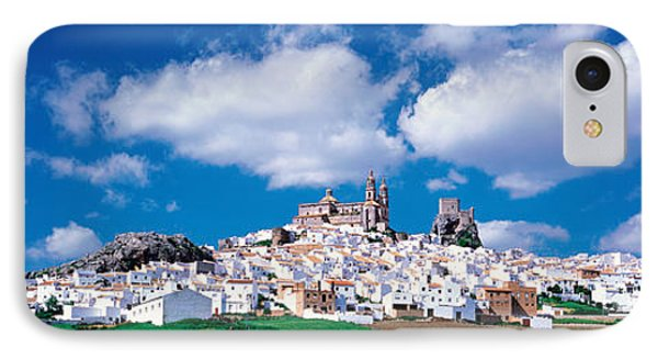 White Houses Andalusia Olvera Spain IPhone Case by Panoramic Images
