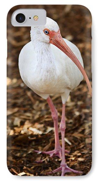White Ibis IPhone 7 Case